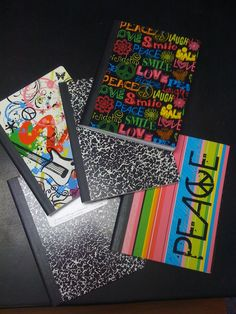 Brand new journals...the year has begun!