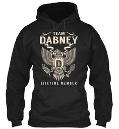 Team DABNEY Lifetime Member #Dabney