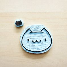 Make this quick and easy cat stamps, so you can put cats on everything!