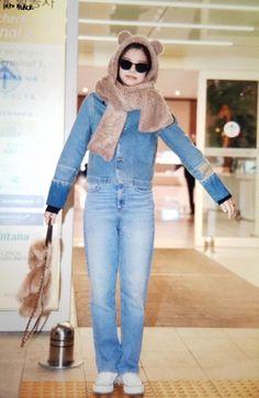 Fashion Idol, Blackpink Fashion, Asian Fashion, Fashion Outfits, Kim Jennie, Kpop Outfits, Korean Outfits, Korean Airport Fashion, Rapper