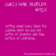 Love them or hate them, if you have curls, you've probably experienced some of these issues. I encourage you to submit your own curly hair concerns. Curly Hair Quotes, Curly Hair Tips, Curly Hair Styles, Natural Hair Styles, Curly Girl Problems, Hair Facts, Hair Issues, Curly Girl Method, Hair Humor