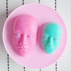 QINF Head Fondant Cake Chocolate Resin Clay Candy Silicone Mold L8cmW8cmH2cm -- More info could be found at the image url.(This is an Amazon affiliate link and I receive a commission for the sales)