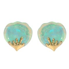Tiffany & co. Opal earrings