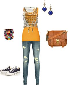 """teen everyday casual outfit"" by karlibell ❤ liked on Polyvore"
