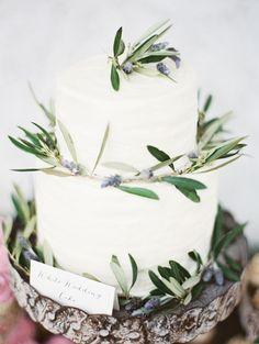 Wedding Cake Tennessee Farm Wedding by Erich McVey