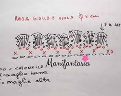 Come fare le rose all'uncinetto arrotolate: schemi e tutorial - manifantasia Crochet Flowers, Planer, Projects To Try, Tear, Roses, Crochet Ideas, Tricot, Ideas, Templates