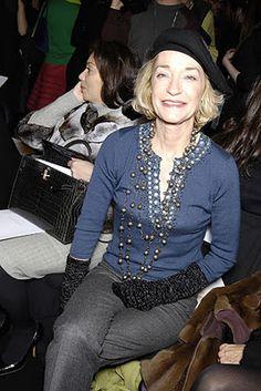 That's Not My Age: Style Inspiration: Loulou de la Falaise