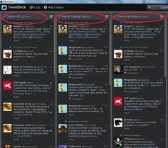 Hashtag más utilizados en Twitter para trading