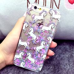 NEW unicorn waterfall iphone 6/6S case Welcome to our dollhouse! Let's shop together dolls❤ If you have any questions, feel free to email us at trendingxxx@gmail.com  ❤Unicorn waterfall glitter case  ❤Material: Hardcover plastic  ❤Color: Silver, Pink  ❤Available for Iphone 6/6S ❤Condition: 100% Brand New  ❤NON BRANDED  ❤Shipment time : On Thursday due to weather in New York Accessories Phone Cases