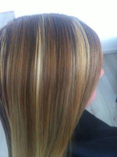 Blond / caramel / honing