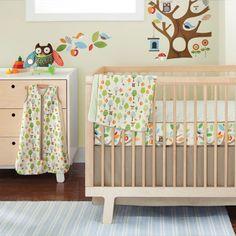 SKIP*HOP® Treetop Friends Complete Sheet™ 4-Piece Crib Bedding Set. Love!