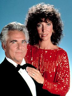 Another World - Mac and Rachel Cory as played by the late Douglas Watson and Victoria Whydam.