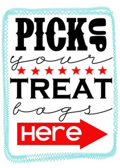 Free printables - fall carnival signs! | Fundraising Ideas ...