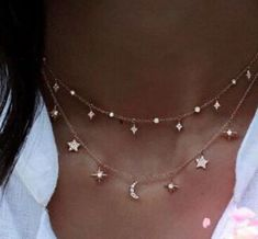 Aliexpress.com : Buy 2017 summer women sexy layer Bling cubic zirconia christmas gift moon star drop charm silver chocker choker silver 925 necklace from Reliable 925 necklace suppliers on ModaOne Jewellery Store