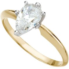 The dazzling look of a single solitaire diamond ring is a timeless classic whose simplicity and grace can never be compared. A fiery pear shaped stone set on a sleek band creates a sophisticated and feminine look. Valentina | budget conscious faux diamonds - Nue Diamonds $398