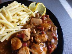 Raspberrybrunette: Kuracie mäso na slaninke so šampiňónmi  Výborné, c...