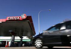 A car pulls into a Caltex Australia Ltd. gas station in Sydney,. Sydney News, Gas Service, Big Oil, Sydney Australia, Gas Station, Friday, Car, Automobile, Autos