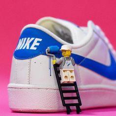 Shrink your URLs and get paid! Minifigura Lego, Lego Ninjago, Big Lego, Legos, Lego Man, Lego Minifigs, Pokemon Lego, Lego Humor, Lego Videos