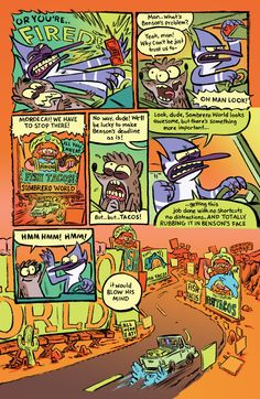 Mordecai And Rigby Surmount Sombrero World And More In 'Regular Show' #3