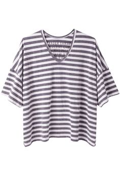 Shop Fashion on La Garconne, an online fashion retailer specializing in the elegantly understated. Short Sleeve Tee, Short Sleeves, St Barts, Striped Tee, Fashion Online, Tees, My Style, Separates, Mens Tops