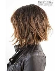 Image result for messy a line bob