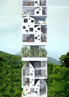 Gallery of Bee Breeders Announce Winners of Hong Kong Pixel Homes Competition - 3