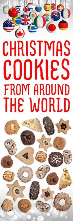 Over 500 Christmas cookies from countries all over the world!  Photos and reviews!