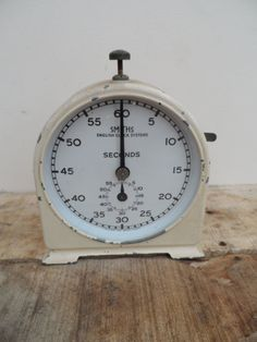 Vintage Smiths Darkroom Timer by English Clock Systems Full Working Order Metal…