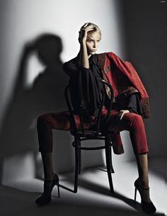 nice Vogue Rússia | Editorial de Moda Maio 2013 | Natasha Poly por Patrick Demarchelier