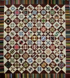 Fickle Nickel quilt pattern from Quakertown Quilts | Traditional ... : quakertown quilts - Adamdwight.com