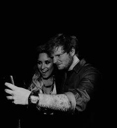 Ed Sheeran and Demi Lovato at TCA 13