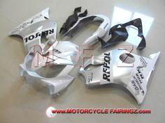2004-2007 HONDA CBR600f4i Fairing Body Kit White Repsol FFKHD006