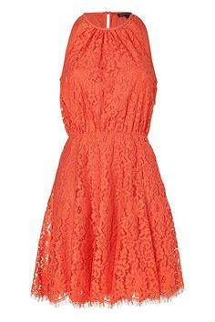 Sweet Cletine Scallop Lace Dress by Juicy Couture