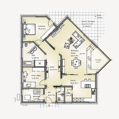 Floor Plan Drawing, House Drawing, Porch House Plans, New House Plans, Home Design Plans, Architecture Plan, Future House, Building A House, New Homes