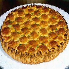 Torta delizia alle mandorle   Dolci Siciliani