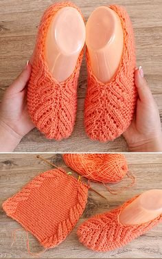 Lace Slippers - Free Knitting Pattern Always wanted to be able to knit, yet uncertain where to start? That Utter Beginner Knitting String is exactly the thing. Knit Slippers Free Pattern, Crochet Slipper Pattern, Dishcloth Knitting Patterns, Knitted Slippers, Knitting Stitches, Knit Patterns, Knitting Blogs, Lace Knitting, Knitting Socks
