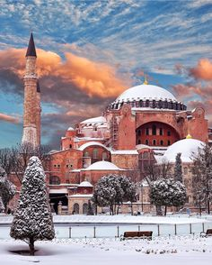 The World's Most Attractive Structures - Travel MSA Hagia Sophia ayasofya istanbul Beautiful Mosques, Most Beautiful Cities, Wonderful Places, 4k Photography, Hotel Istanbul, Istanbul Tourism, Istanbul Travel, Sainte Sophie, Hagia Sophia Istanbul