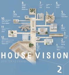 日本人の新しい暮らし方を提案するプロジェクト「ハウス ビジョン(HOUSE VISION)」は、企業とクリエイターのコラボ建築が並ぶ展覧会「ハウス ビジョン2016 トウキョウ エキシビション(HOUSE VISION 2016 TOKY...