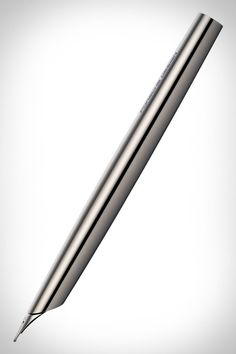 The minimalistic Porsche Design Titanium Pen, produced from a single piece of solid titanium, …