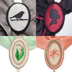 Внимание к деталям. Броши Le Coffre с авторской вышивкой для шарфов. #lecoffre #брошь #брошьручнойработы #шарф #дизайнерскийшарф #дизайнерскаябижутерия #бижутерияручнойработы #ручнаяработа