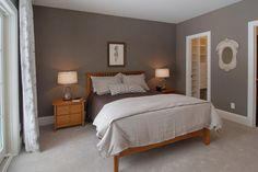 Simple Master Bedroom with Pine Furniture - Natural Pine Master Bedroom Furniture