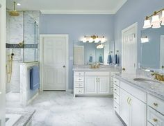 Double Vanity, House Bath, Remodeling, Inspiration, Bathroom, Design, Biblical Inspiration, Washroom, Full Bath