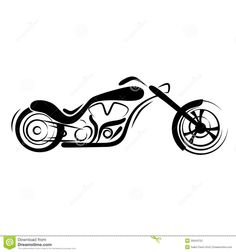 simple motorcycle clipart - Google Search Bike Tattoos, Motorcycle Tattoos, Motorcycle Clipart, Metal Projects, Bike Art, Laser Engraving, Paper Flowers, Wood Signs, Harley Davidson