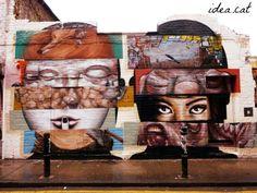 street art in London , by Idea.cat