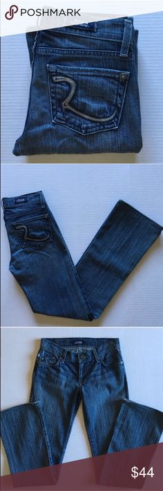 "Rock & Republic Boot Cut Jeans These jeans are so cute!  Perfect for anything you want to wear!  Size 24 which is a 0. Style:  Kasandra Bootcut (Fitted through the hip and thigh)Material: 98% Cotton/2% Spandex. Measurements:   Length - 36.5""/Waist - 13""/Inseam - 29.5 Rock & Republic Jeans Boot Cut"
