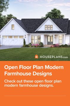 Love the look of a contemporary modern farmhouse exterior? Then check out this new blog! You'll find all kinds of modern farmhouse ideas in it. Questions? Call 1-800-913-2350 today. #blog #architecture #modern #bungalow #architect #architecture #buildingdesign #country #craftsman #houseplan #homeplan #house #home #homeblog Modern Farmhouse Design, Modern Farmhouse Exterior, Farmhouse Ideas, Modern Bungalow, Open Floor, Building Design, Dream Homes, Curb Appeal, Craftsman