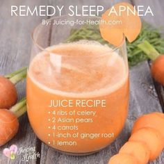 Sleep Apnea Symptoms And Natural Remedies That WorkYou can find Health remedies and more on our website.Sleep Apnea Symptoms And Natural Remedies That Work Healthy Juice Recipes, Healthy Juices, Healthy Smoothies, Healthy Drinks, Smoothie Recipes, Detox Juices, Healthy Food, Cleanse Recipes, Good Juicing Recipes