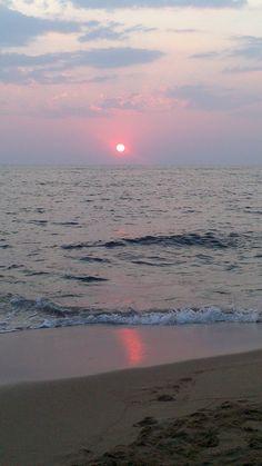 Sunset in Petrochori