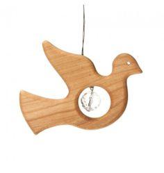 Peaceful Dove Crystal Suncatcher in Home Decor - Nova Natural Toys + Crafts