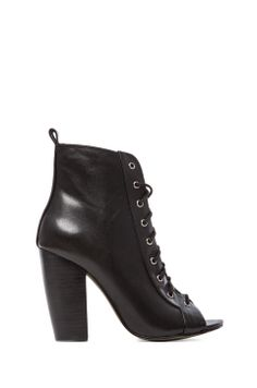 e0a29a06ca08 Kelsi Dagger Bling Bootie in Black from REVOLVEclothing Heels Outfits